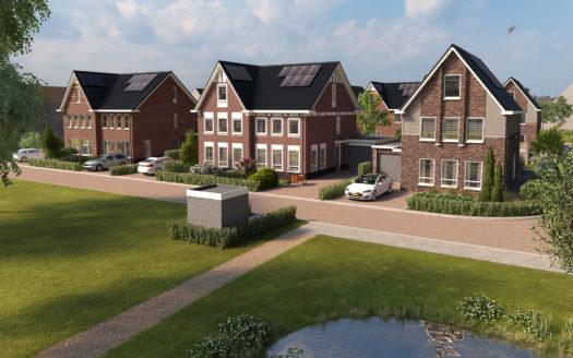 Twee-onder-één-kapwoningen in Kievitweide, Bangert en Oosterpolder